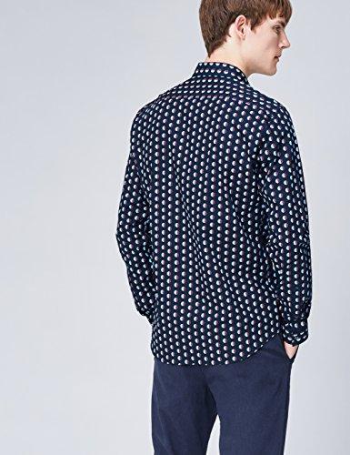 Hombre Para De Azul Find Entallada navy Camisa Lunares 7FnPqIXT