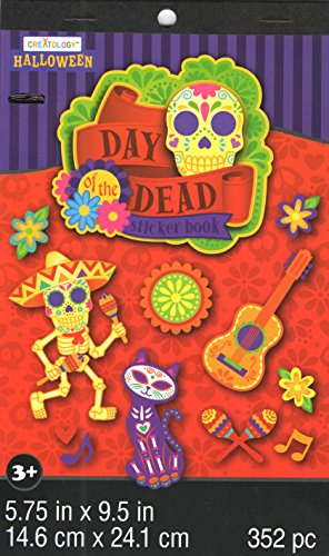 Creatology Sticker Book ~ Halloween Edition (Day of the Dead; 352 Stickers) -