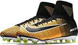 Nike Men's Mercurial Superfly FG Soccer Cleat (Sz. 9.5) Laser Orange, Black
