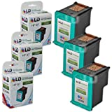 LD © Remanufactured Replacement Ink Cartridges for Hewlett Packard C9363WN (HP 97) Tri-Color (3 Pack)