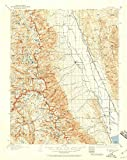 YellowMaps Mt Whitney CA topo map, 1:125000 Scale, 30 X 30 Minute, Historical, 1937, Updated 1959, 20.8 x 16.6 in - Tyvek