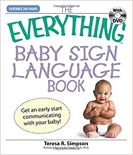 the everything baby sign language book simpson teresa r