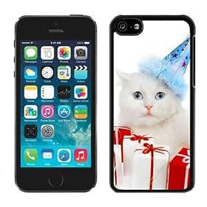MMZ DIY PHONE CASECustomization iphone 6 plus 5.5 inch TPU Case Christmas Cat Black iphone 6 plus 5.5 inch Case 34