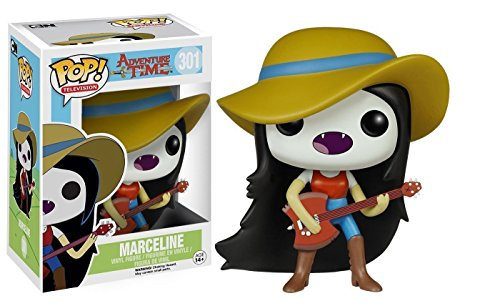 Funko Pop Tv Adventure Time Marceline Guitar Vinyl Action Figure Collectible Toy