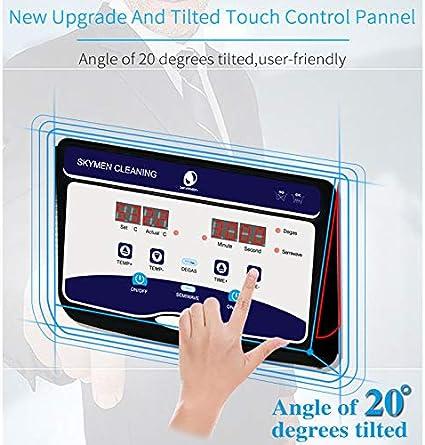 Herewegoo Herramientas de Limpieza Digital Wave de ultrasonidos Cesta Limpia para Tanque para joyer/ía Relojer/ía Dental
