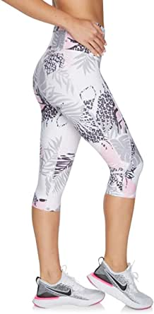 Rockwear Activewear Women's Hey Baby 3/4 Print Shape Tight from Size 4-18 for 3/4 Length High Bottoms Leggings + Yoga Pants+ Yoga Tights