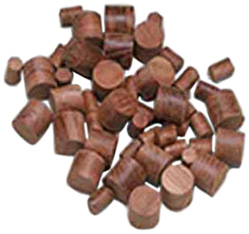 Whitecap Teak Boat Wood Plug (500-Pack), 3/8-Inch