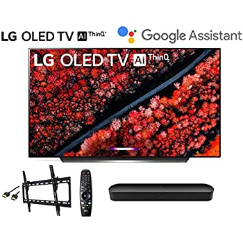 2019 TV Cleaning Kit LG Electronics OLED65C9PUA C9 Series 65 4K Ultra HD Smart OLED TV HDMI Cable w//$25 Netflix and HBO Now Gift Cards w//3 in 1 Wall Mount kit- Wall Mount LG Authorized Dealer.