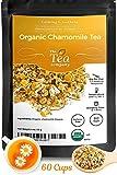 Organic Chamomile Tea Calming Herbal Tea Loose Dried Flowers by The Tea Company 4 oz