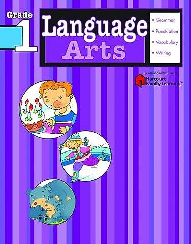 Language Arts: Grade 1 (Flash Kids Harcourt Family Learning) (Language Arts For Kids)