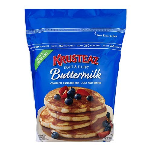 Krusteaz Pancake Mix, Complete, Buttermilk Family Size 3 Pack dcb&h( 10 lb Ea ) by Krusteaz (Image #1)