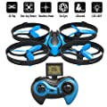 RCtown ELF II Mini Drone for Kids Headless Mode 3D 360° Flips & Rolls RC Quadcopter One-key Return 4 Channel 2.4GHz 6-Gyro Helicopter Remote Control from RCtown