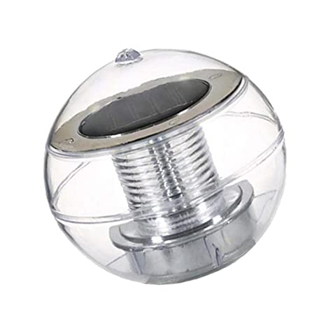 Alimenté Lumière Énergie Solaire À Lampe Baoblaze Boule Flottant myv8nwOP0N