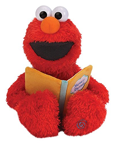 Gund Nursery Rhyme Elmo Sound Toy (Sesame Street Stuffed Animals)