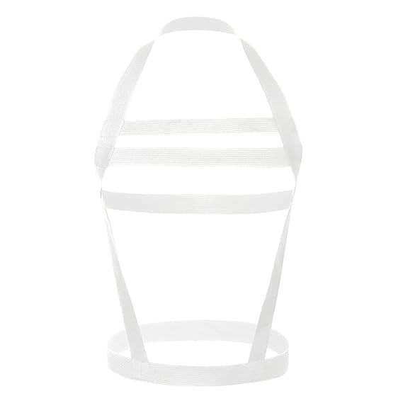 iiniim Cinturón Elástico Ajustable Ropa Interior Hombre Lencería Erótica Traje de Arnés Hebillas de Pecho Cuerpo
