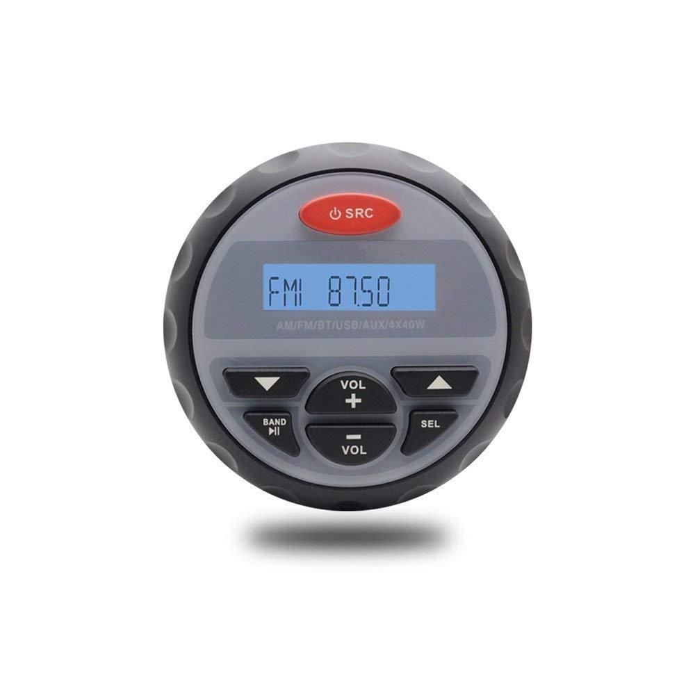 Radio marine FM AM MP3 st/ér/éo Bluetooth Musique /étanche pour UTV ATV Moto Car Boat SPA size2