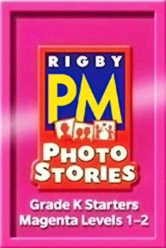 Read Online Rigby PM Photo Stories: Complete Package Magenta (Levels 2-3) pdf