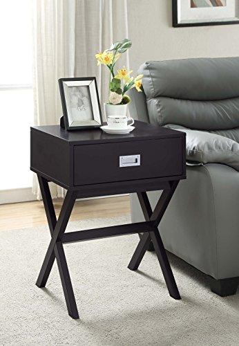 Convenience Concepts Designs 2 Go Landon End Table, Espresso