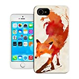 BreathePattern-Vulpes Vulpes-Apple iPhone 4 case