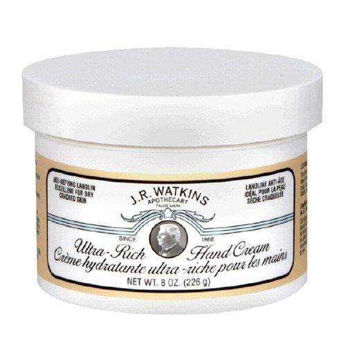 J.R. Watkins Ultra Rich Hand Cream, 8-Ounce (Pack of 4) ()
