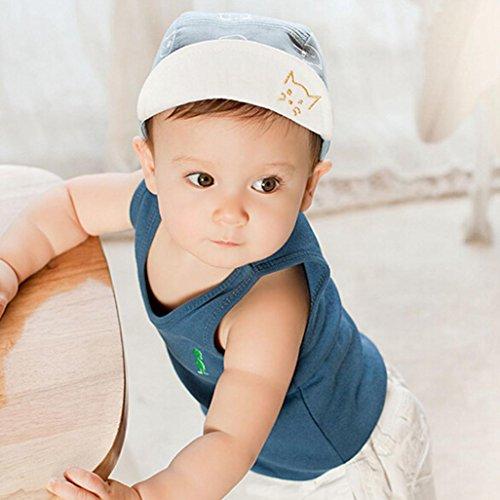 Cartoon Kitten Kids Toddler Baby Boy Girl Baseball Hat Beanie Cap Summer Sun cb73c7da1d21