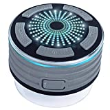 Bluetooth IPX7 Waterproof Shower Speaker, Forrader Portable Wireless 4.0 Music Player with Stereo Sound FM and Suction Cup for Pool, Shower, Boat, Beach, Hot Tub,Party, Outdoors, Indoors