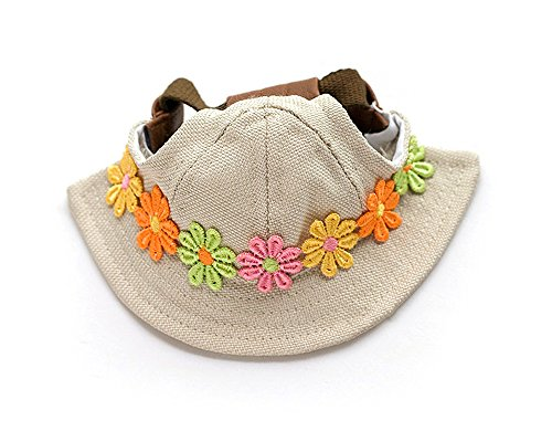 (HAPEE Chic Lovely Beret Cartoon Design Style Pet Hat)