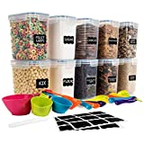 Best Food Savers - SPACE SAVER Food Storage Airtight Pantry Containers [Set Review