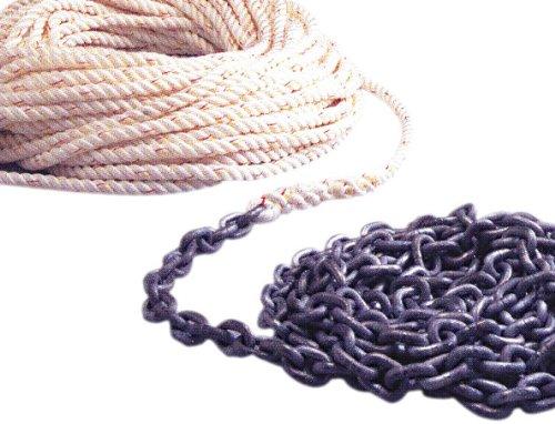 全日本送料無料 Powerwinch 150 ft. of 1/2 Inch Rope 10 ft. of 1/4 Inch Ht Chain Rode   B0002YGASA, 三河わくわくストリート ae2c7fa0