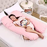 Full Body Pregnancy Maternity Pillow Belly & Back Support...