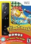 Fling Smash with Black Wii Remote Plu...