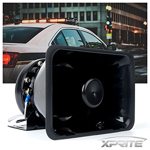 att High Performance Siren Speaker (Capable with Any 100 - 200 Watt Siren) (200w Horn)