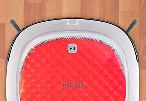 Ecovacs DEEBOT D35 Robot de limpieza de suelos desnudos, rojo por ...