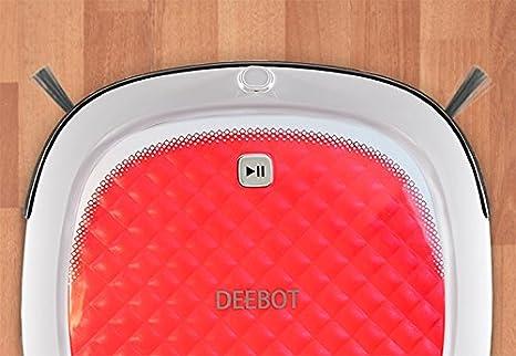 Ecovacs DEEBOT D35 Robot de limpieza de suelos desnudos, rojo por: Amazon.es: Bricolaje y herramientas