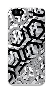 3d hexagons PC Diy For SamSung Galaxy S6 Case Cover 3D
