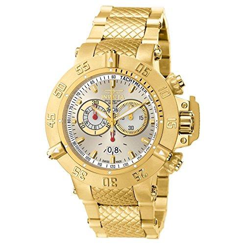 Invicta Men's 5406 Subaqua Noma III Collection Gold-Tone Chronograph Watch