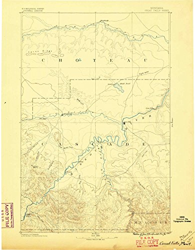 YellowMaps Great Falls MT topo map, 1:250000 Scale, for sale  Delivered anywhere in USA
