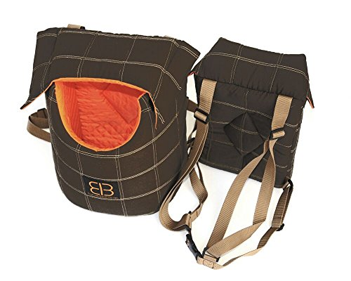Petego Lenis Pack Front/Backpack Pet Carrier Bag, Large