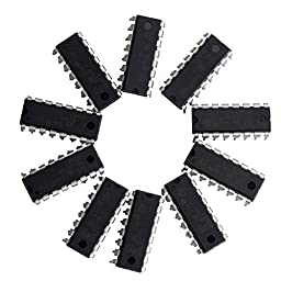 CHENBO(TM) 10 X L293D Stepper Motor Driver PUSH-PULL FOUR CHANNEL MOTOR DRIVER IC 36V 600mA