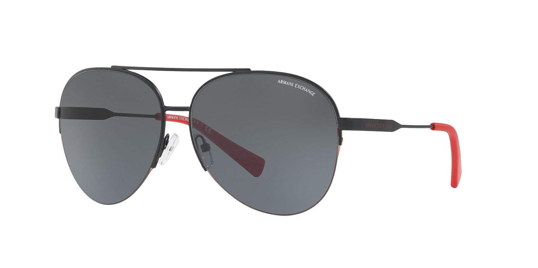 606f1842e5d7 Amazon.com  Armani Exchange Men s Metal Man Aviator Sunglasses ...