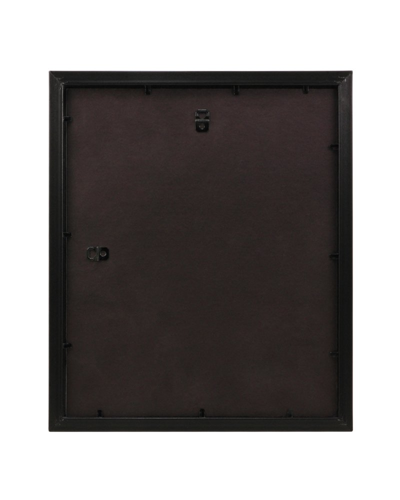 BorderTrends Echo 10x12-Inch Double Opening Collage Photo Frame Espresso Brown with White Mat