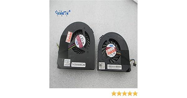 CPU and GPU Fan for Dell Precision M4700 Laptop CPU Cooling Fan 01G40N BATA08015R5H-P002 MG60120V1-C170-S9A DP//N 0CMH49 CMH49