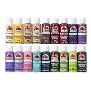 Apple Barrel PROMOABII Matte Finish Acrylic Craft Paint Set Designed for Beginners and Artists, Non-Toxic Formula that…