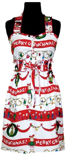 Dr. Seuss in the Kitchen Delilah Apron, Merry Grinchmas