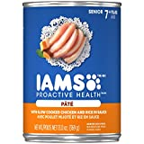 Iams Proactive Health Senior Slow Cooked Chicken Rice Pate Wet Dog Food 13.0 Ounces (Pack Of 12)