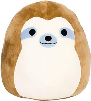 """Squishmallows Simon the Sloth 7.5/"""" Soft Plush Toy"""