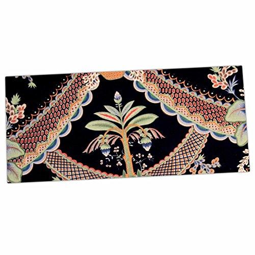"""KESS InHouse Philip Brown """"Vintage Paisley Pattern"""" Black..."""