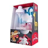 Whiskware Pancake Art Kit with Batter Mixer, Art Bottle, BlenderBall Wire Whisk and 2 Pancake Shapers