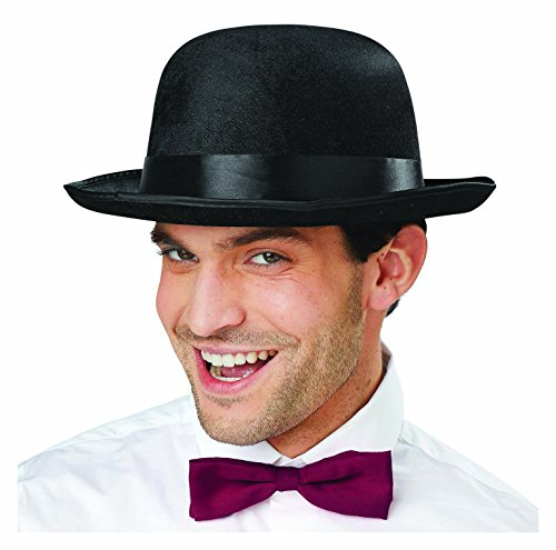 Charlie Chaplin Outfit (Deluxe Black Bowler Hat Dress Up Costume Accessory)