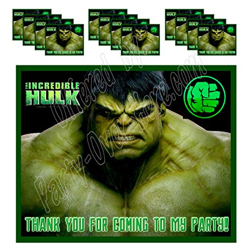 The Incredible Hulk Party Supplies - The Incredible Hulk Stickers Party Favors